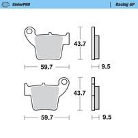 Колодки тормозные задние Honda CR/CRF (SinterPRO)