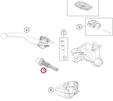 Ремкомплект передней тормозной машинки GasGas EC/EC-F 21-