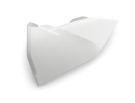 Крышка корпуса воздушного фильтра левая белая KTM SX/SX-F 16-18 / EXC/EXC-F 17-19