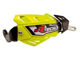 Защита рук RTech FLX алюминиевая желтая неон (без крепежа)
