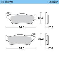 Колодки тормозные передние Moto-Master серии (Racing GP) KTM/Husqvarna/Husaberg/GasGas