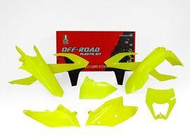Комплект пластика желтый неон KTM EXC/EXC-F 17-19