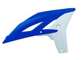 Боковины радиатора Yamaha YZF250 10-13 # WRF450 12-15 сине-белые
