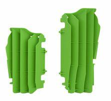 Решетка радиатора увеличенная зеленая Kawasaki KX450F 16-19