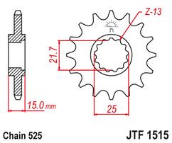 Звезда ведущая  JTF1515 15