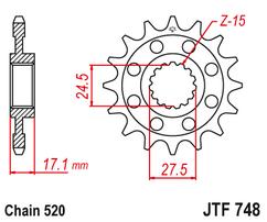 Звезда ведущая  JTF748 14