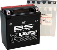 Аккумулятор BTX20A-BS/YTX20A-BS