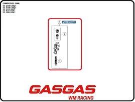 Задний тормозной цилиндр (Braktec) GasGas EC/EC-F 21-