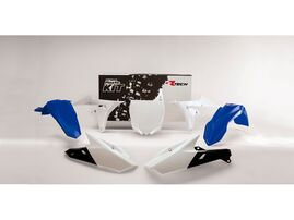 Комплект пластика YZF250 14-18 # YZF450 14-17 бело-синий