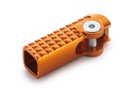 Сменная часть рычага переключения передач оранжевая увеличенная KTM 125/150SX , SX-F 16-21 / 250SX, EXC 17-21