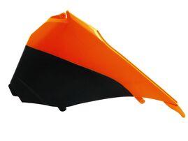 Боковина воздушного фильтра левая SX125 13-15 # SX250 13-16 # SXF 13-15 # EXC/EXCF 14-15 оранжево-черная