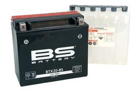 Аккумулятор BTX20-BS/YTX20-BS