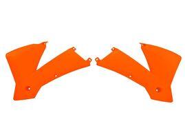 Боковины радиатора оранжевые KTM SX400-520 01-02 # SX125-250 01-04 # EXC125-525 03-04