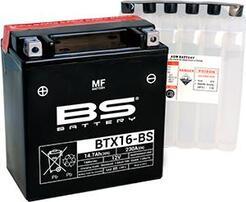 Аккумулятор BTX16-BS-1/YTX16-BS-1