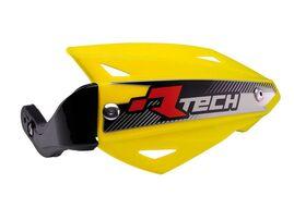 Защита рук Vertigo ATV желтая с крепежом