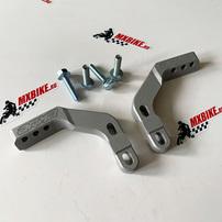 Кронштейны крепления защиты рук траверсе (28 мм)