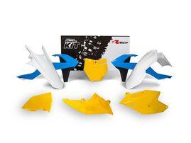 Комплект пластика KTM SX125-150/SXF250-450 16-18 # SX250/XC-F/XC250-450 Винтаж синий/желтый/белый
