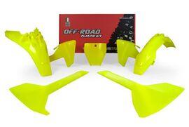 Комплект пластика TC85 18-19 желтый неон