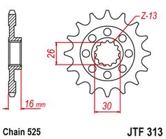Звезда ведущая  JTF313 15