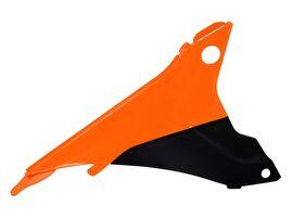 Боковина воздушного фильтра правая оранжево-черная KTM EXC,EXC-F 125-500 14-16