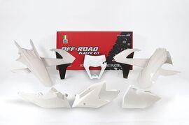 Комплект пластика белый KTM EXC/EXC-F 17-19