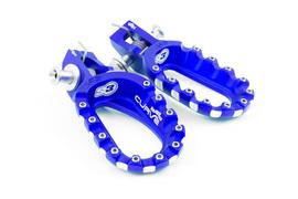 Подножки алюминиевые высокие синие S3 Hard Rock KTM / Husqvarna 17-21