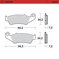 Колодки тормозные передние Yamaha / Honda / Suzuki / Kawasaki / GasGas / Beta