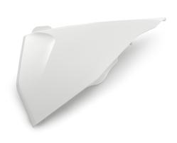 Крышка корпуса воздушного фильтра левая белая KTM SX/SX-F 19-21; EXC/EXC-F 20-21