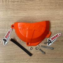 Защита крышки сцепления комплект KTM EXC-F250-350 17-21 (для Европейского рынка) / Freeride 250F 18-20