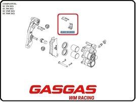 Направляющие скобы переднего суппорта GasGas EC/EC-F 21-