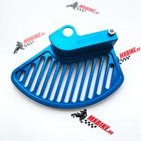Защита переднего тормозного диска синяя Husqvarna TE/FE 17-21 (ось 22 мм)