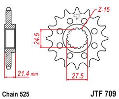 Звезда ведущая  JTF709 16