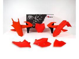 Комплект пластика оранжевый неон KTM SX125-150/SXF250-450 16-18 # SX250/XC-F/XC250-450 17-18