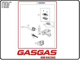 Главный тормозной цилиндр (Braktec) GasGas EC/EC-F 21-