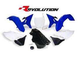 Комплект пластика YZ125-250 02-19 # WR/YZ-X250 16-19 синий/белый