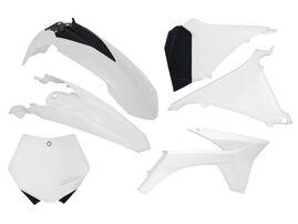 Комплект пластика белый KTM SX 125-250 2011