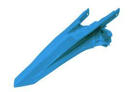 Крыло заднее винтаж светло-голубое KTM SX125-150/SXF250-450 16-18 # SX250/XC/XC-F250-450 17-18