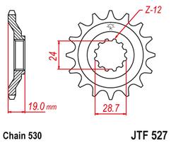Звезда ведущая JTF528 17