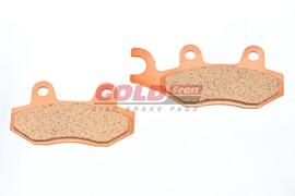 Тормозные колодки дисковые Kawasaki KX/KLX / Suzuki RM/RMX/DR / Yamaha YZ/TT-R 002 S33