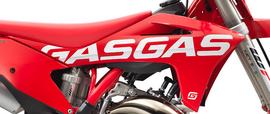 Боковины радиатора красные с графикой комплект GasGas MC 2021