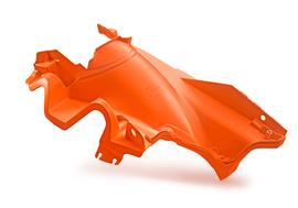 Нижняя часть корпуса воздушного фильтра оранжевая KTM SX/SX-F 19-21; EXC/EXC-F 20-21