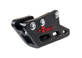 Ловушка цепи Rtech R2.0 WORX черная Kawasaki KX250F/450F 09-20 / KLX450R 12-16