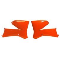 Боковины радиатора оранжевые KTM 85SX 06-12