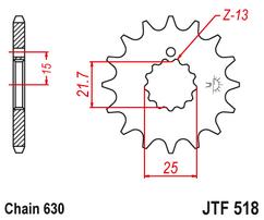 Звезда ведущая JTF518 16