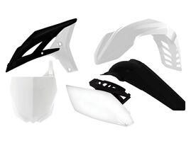 Комплект пластика YZF250 10-13 бело-черный