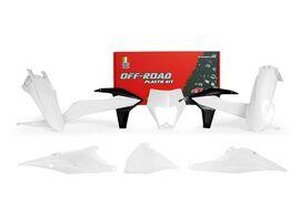 Комплект пластика белый KTM EXC/EXC-F 20-21