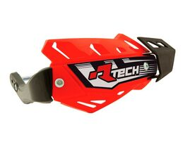 Защита рук FLX ATV красная с крепежом