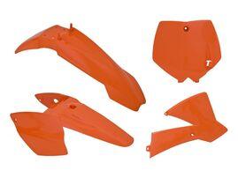 Комплект пластика оранжевый KTM SX65 02-08