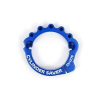 Защита выпускного фланца синяя KTM / Husqvarna