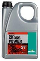 Масло для двухтактных двигателей Motorex CROSS POWER 2T (4 л)